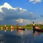 Indrukwekkend moerasgebied in Botswana