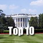Top 10 Hotspots Oost Amerika