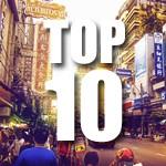 Top 10 steden in Azië