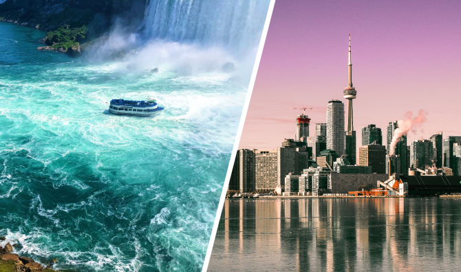 East USA meets Canada